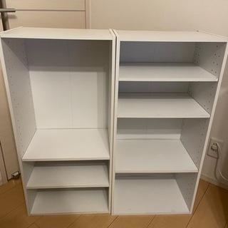 ニトリ カラーボックスカラボ 3段(WH)