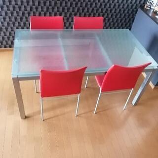 ダイニングテーブル&椅子4脚