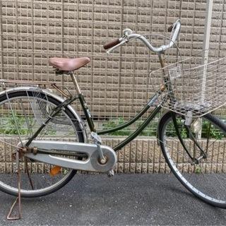 自転車 美品 26インチ タイヤほぼ新品