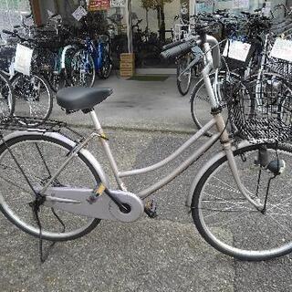 中古自転車1718 前後タイヤ新品! 24インチ ギヤなし ダイ...