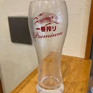 ビールグラス バラ1個100円