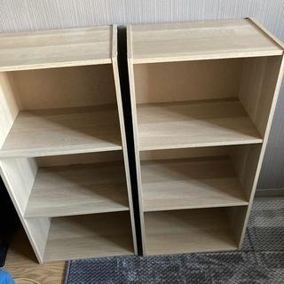 本棚 2個