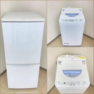 【地域限定送料無料】【美品セット】冷蔵庫・洗濯機,    …