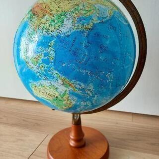 【美品】地球儀