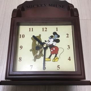 ミッキーマウス 置き時計 キーケース レターホルダー