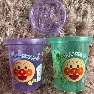 【2点以上で無料】アンパンマン カップ ストローカップ