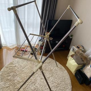 室内洗濯干し 洗濯干し 多機能物干しスタンド クロス型 幅…