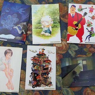 【昔のモノ?】ポストカード6枚セット 未使用品 四方瑠美 …