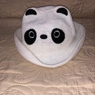 パンダの帽子