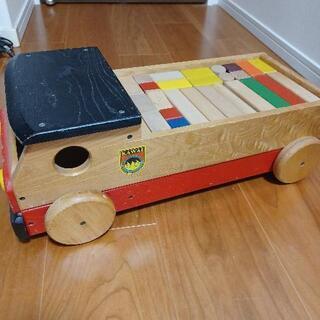 KAWAI  積み木  トラック型