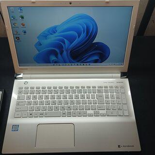 東芝 T65/GG Core i7-8550U メモリ8GB S...
