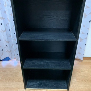 3段ボックス 黒