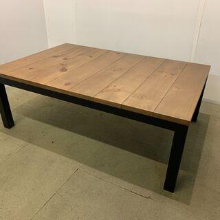(211022) こたつテーブル 机 ヴィンテージ風  オールシ...