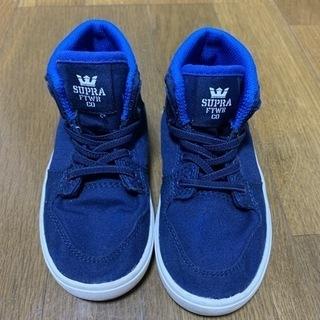 子供靴 SUPRA 14センチ