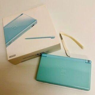 任天堂 DSLite アイスブルー 新品未使用 DS用アクセサリ...