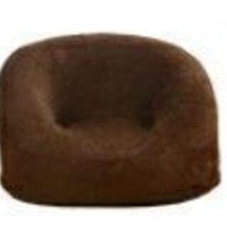 B子供椅子【パズ/ファブリック:ブラウン色】②キッズソファ 椅子...