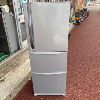 TOSHIBA東芝 3ドア冷蔵庫 自動製氷付 339L
