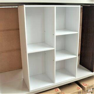 新品 コンビボックス カラーボックス ホワイト 組み立て済み