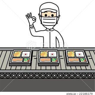 【増員継続中 】大手コンビニのサラダ盛り付け・パスタ製造の…
