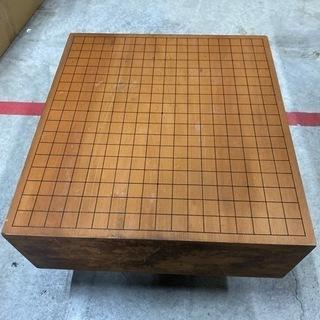 碁盤『松寿』年季入ってます。