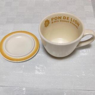 未使用 ミスド スープカップ(蓋付き)