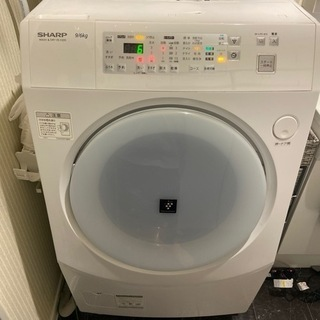 【急募】SHARP ドラム式洗濯機