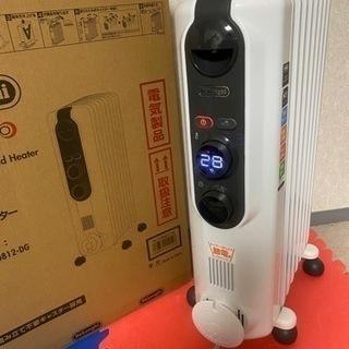 【空気キレイ】デロンギ アミカルドオイルヒーター/組み立て不用品...