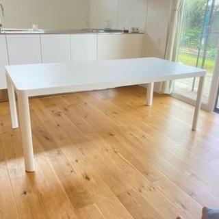 IKEA  180×90  高さ65cmカット ダイニングテーブ...