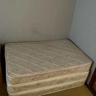折り畳み可能 マットレス ホワイト 良品