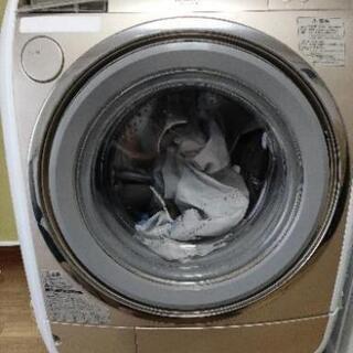【ジャンク】日立製ドラム式洗濯機