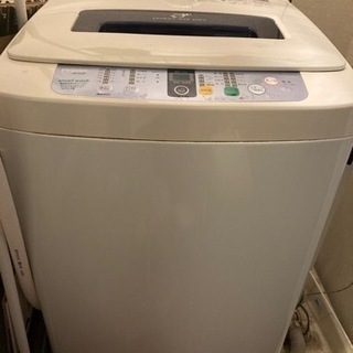 【無料】縦型洗濯機 4.2kg 予約タイマーあり ステンレ…