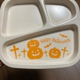 ハロウィン柄のお皿5枚セット 割れにくいバンブー素材 ハロ…