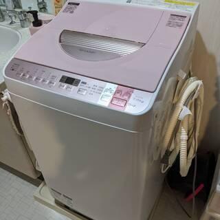 シャープ SHARP 洗濯乾燥機 2016年製 7kg