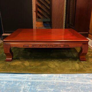 ☆ローテーブル 120cm幅 オールドスタイル 座卓