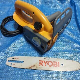 RYOBI電気チェーンソー