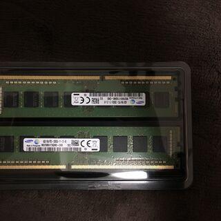 PC用メモリ DDR3 4GB×2枚 合計8G