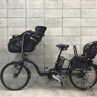 パナソニック製子供乗せ電動自転車 程度良好 子供シート付き