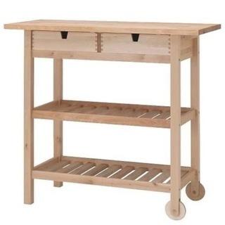 IKEA[FORHOJA]キッチンワゴン