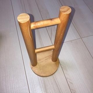 イヤホンスタンド 木製