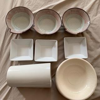 小鉢 キッチンツールスタンド 使い捨て皿 差し上げます