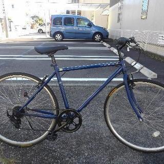中古自転車1720 クロスバイク 700×28C 7段ギア…