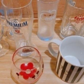 ジョッキ、コップ、グラス、マグカップ