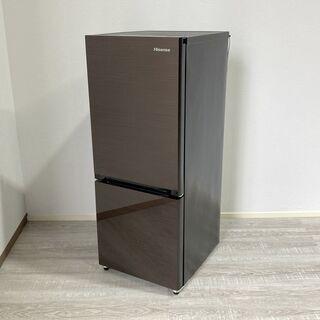 美品 2021年製 ハイセンス 154L 2ドア冷凍冷蔵庫 HR...