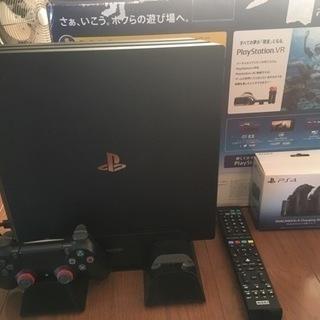 PlayStation4 Pro & リモコン他おまけ多数