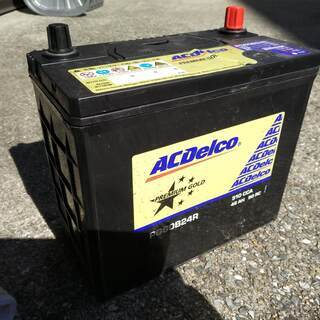 中古の車用バッテリーACDelco PG60B24R