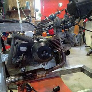 【ネット決済】スーパーカブ横型エンジン50cc