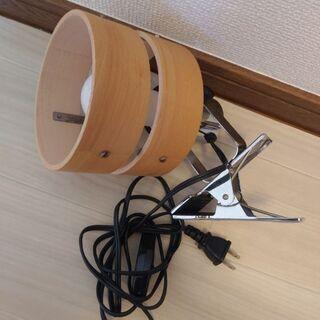 【無料】電球付おしゃれクリップライト