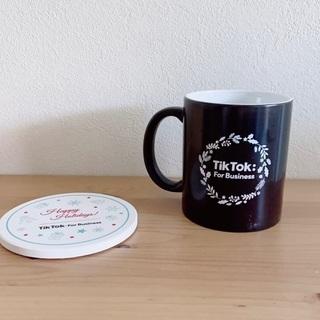 TikTok非売品マグカップ&コースター