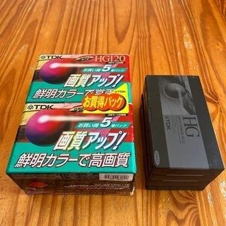 VHSビデオテープ14本