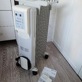 リモコン付き マイコン式オイルヒーター(個人での加工あり)